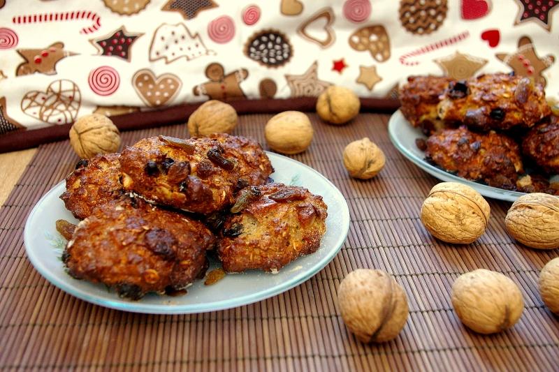 Dietetyczne ciastka orzechowe hewps.pl Blog Kulinarny