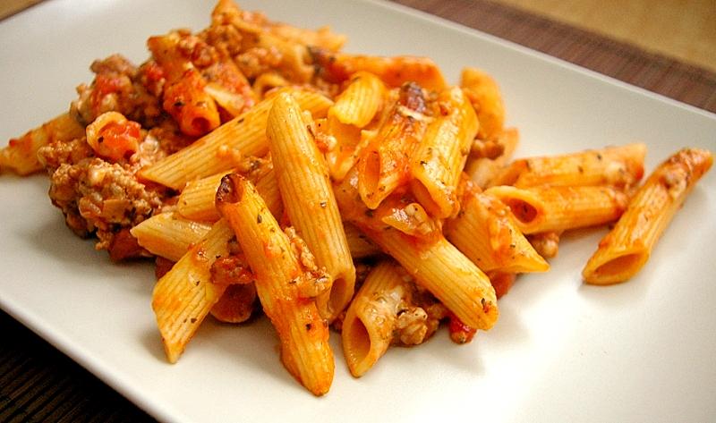 Spaghetti zapiekane hewps.pl Blog Kulinarne