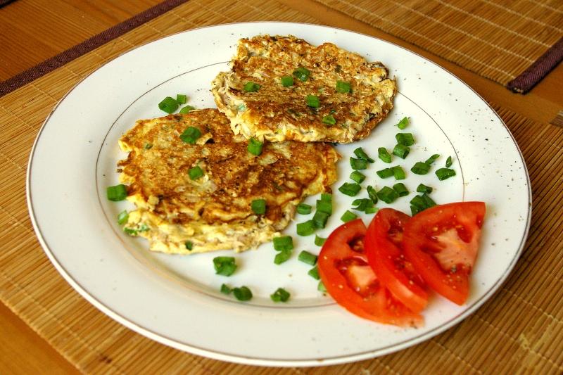 Dietetyczne placki z tuńczykiem hewps.pl Dietetyczny Blog Kulinarny