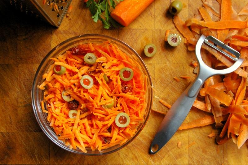 Dietetyczne przepisy, Blog Kulinarny - Fitness Food - surówka z marchwi