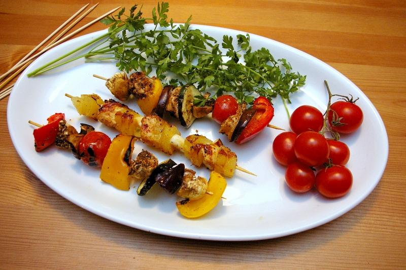 Dietetyczne przepisy Blog Kulinarny - Szaszyłyki drobiowe z grilla