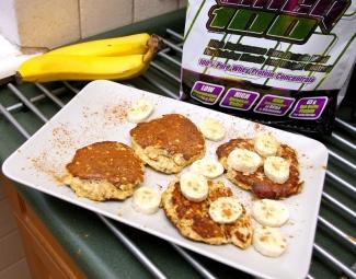 Dietetyczne przepisy , Blog Kulinarny - Dietetyczne placki z bananem