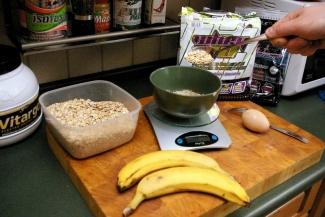 Dietetyczne przepisy , Blog kulinarny - Waniliowe placki z bananem