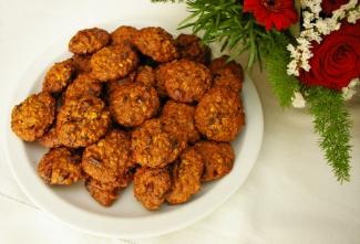 Dietetyczne przepisy - Blog Kulinarny - Dietetyczne ciasteczka owsiane z bakaliami