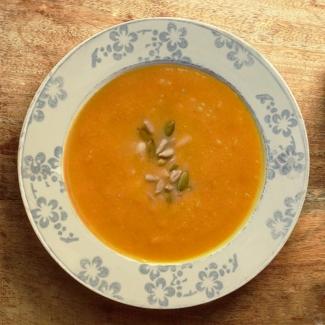 Dietetyczne przepisy - Dietetyczna zupa z dyni