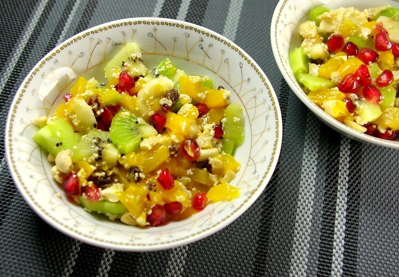 Dietetyczne przepisy - Zdrowa żywność - Sałatka z amarantusem
