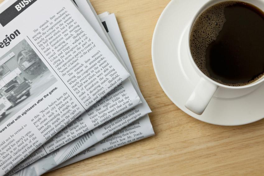 """Lektura """"do kawy"""" odc.1 czyli #piąteczek"""