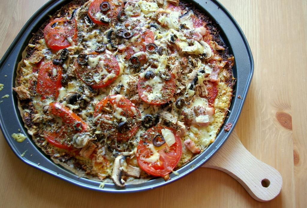 Bezglutenowa pizza z kalafiora