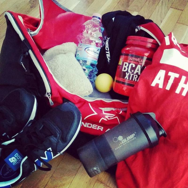 Jak wygląda moja torba na trening