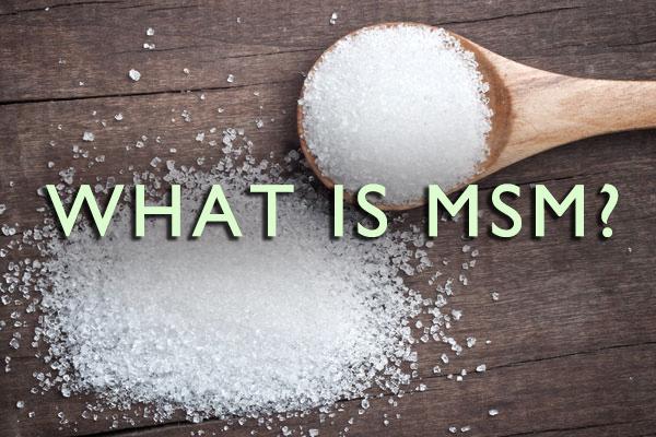 Dlaczego warto suplementować MSM