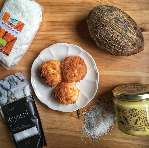 Przepis na kokosanki (bez cukru i bez mąki)