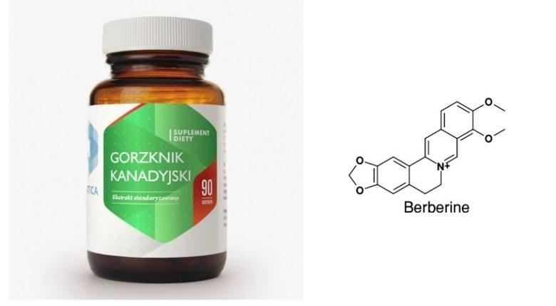Top produkty: Berberyna