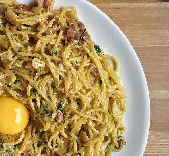 Prawdziwe spaghetti Carbonara