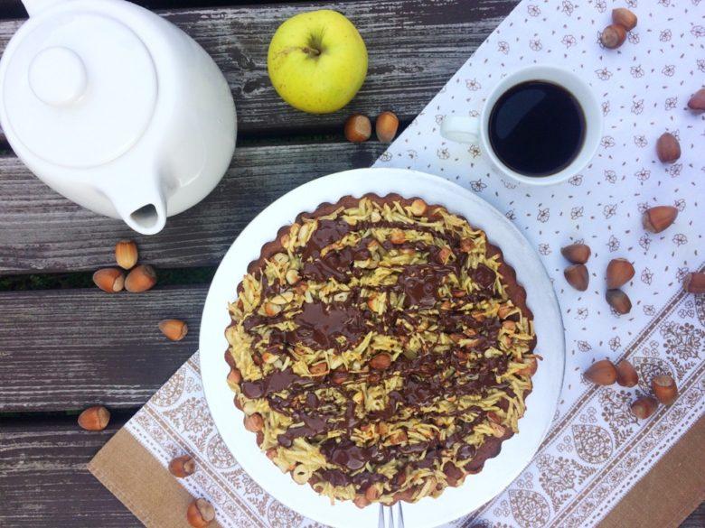 Ciasto bananowe z orzechami i czekoladą