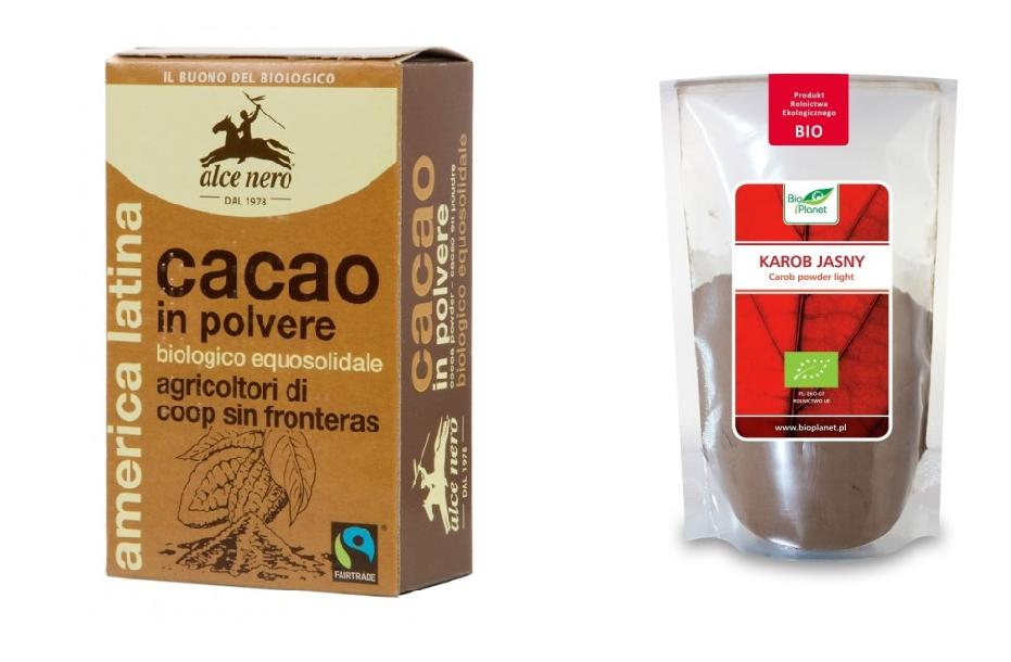 Kakao czy karob, co lepsze i dlaczego?