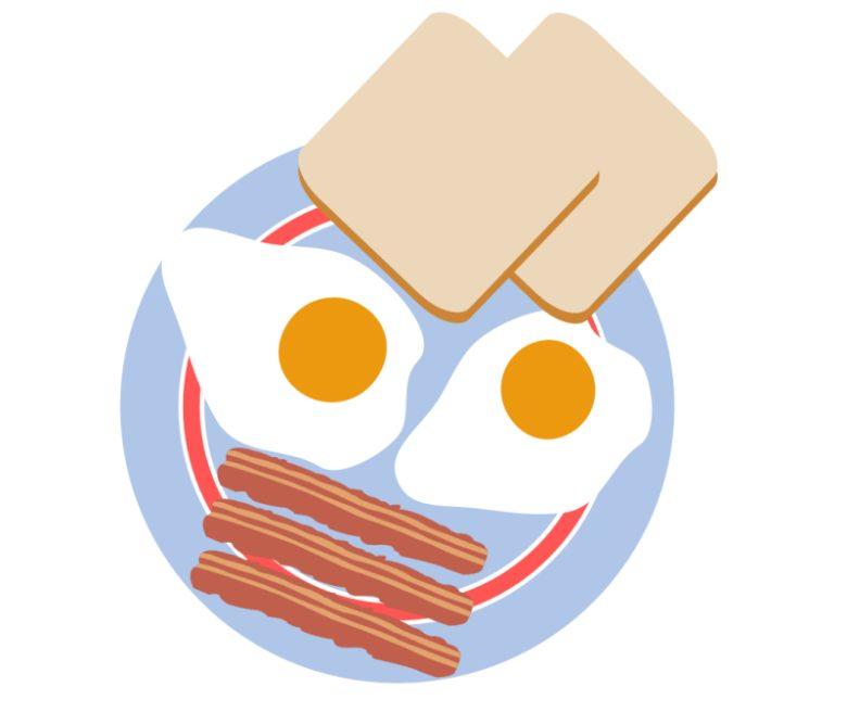 Co jeść na śniadanie w czasie delegacji?