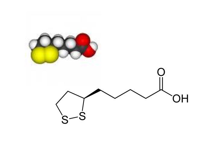 Kwas alfa-liponowy w formie wlewów dożylnych i stuprocentowa wchłanialność substancji.