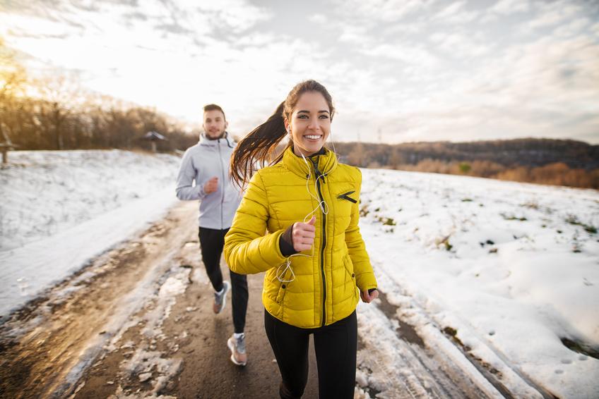 Czy ćwicząc zimą na dworze spalamy więcej kalorii?