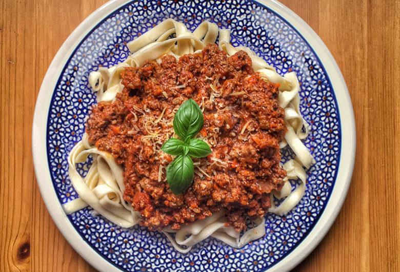 Spaghetti jak z Piccolo czyli Tagliatelleallabolognese