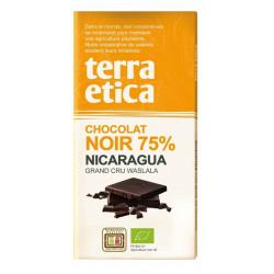 TERRA ETICA Czekolada gorzka 75% Nikaragua BIO 100g