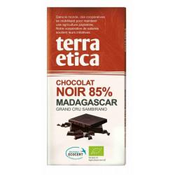 TERRA ETICA Czekolada gorzka 85% Madagaskar BIO 100g