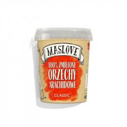 MASLOVE Krem z orzechów arachidowych 100% 400g