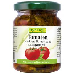 RAPUNZEL Pomidory suszone w oliwie BIO 120g