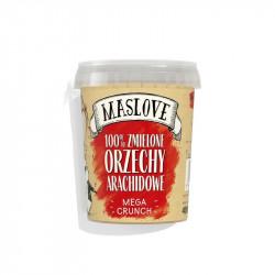 MASLOVE Krem z orzechów arachidowych Crunchy 100% 400g