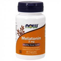 NOW FOODS Melatonina 3mg 60 tab.