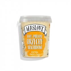 MASLOVE Krem z orzechów arachidowych extra zmielone 100% 400g