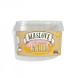 MASLOVE Krem z orzechów arachidowych z solą himalajską 200g