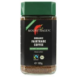 MOUNT HAGEN Kawa rozpuszczalna bezkofeinowa BIO 100g
