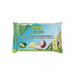 RAPUNZEL Czekolada biała z wiórkami kokosowymi BIO 100g