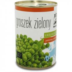BIO EUROPA Groszek zielony konserwowy BIO 340g
