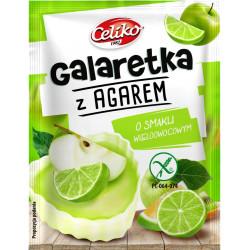 CELIKO Galaretka z agarem o smaku wieloowocowym 45g
