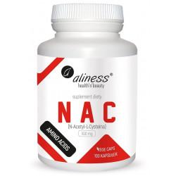 ALINESS NAC (N-Acetyl-L-Cysteina) 500mg 100 kaps.