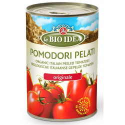LA BIO IDEA Pomidory pelati bez skórki w puszce BIO 400g