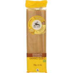 ALCE NERO Makaron razowy spaghetti (semolina) BIO 500g