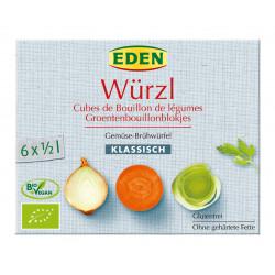 EDEN Kostki warzywne BIO 66g (6 x 11g)