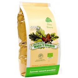 DARY NATURY Mąka z żołędzi bezglutenowa BIO 500g
