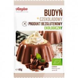 AMYLON Budyń czekoladowy BIO bezglutenowy 40g