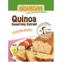 BIOVEGAN Zakwas chlebowy Quinoa w proszku BIO 20g