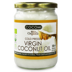 COCOMI Olej kokosowy Virgin BIO 500ml