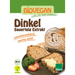 BIOVEGAN Zakwas chlebowy orkiszowy w proszku BIO 20g