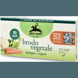 ALCE NERO Kostki warzywne BIO 100g