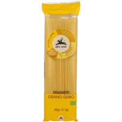 ALCE NERO Makaron z semoliny (spaghetti) BIO 500g