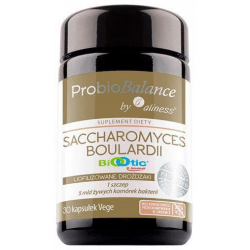 ALINESS Saccharomyces Boulardii 5 mld. 30 kaps.