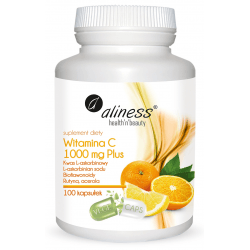 ALINESS Witamina C 1000mg Plus 100 kaps.