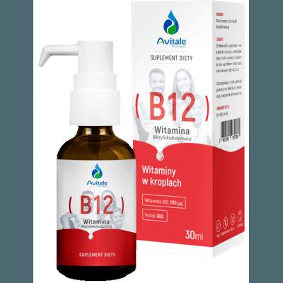 AVITALE Witamina B12 200 mcg 30 ml
