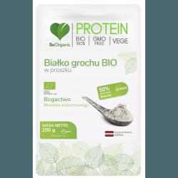 BEORGANIC Białko grochu BIO 200g